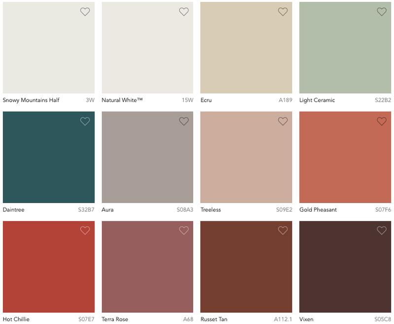 reset palette
