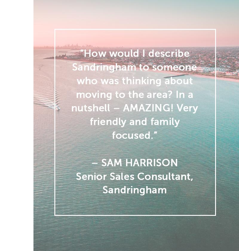 Sam Harrison quote