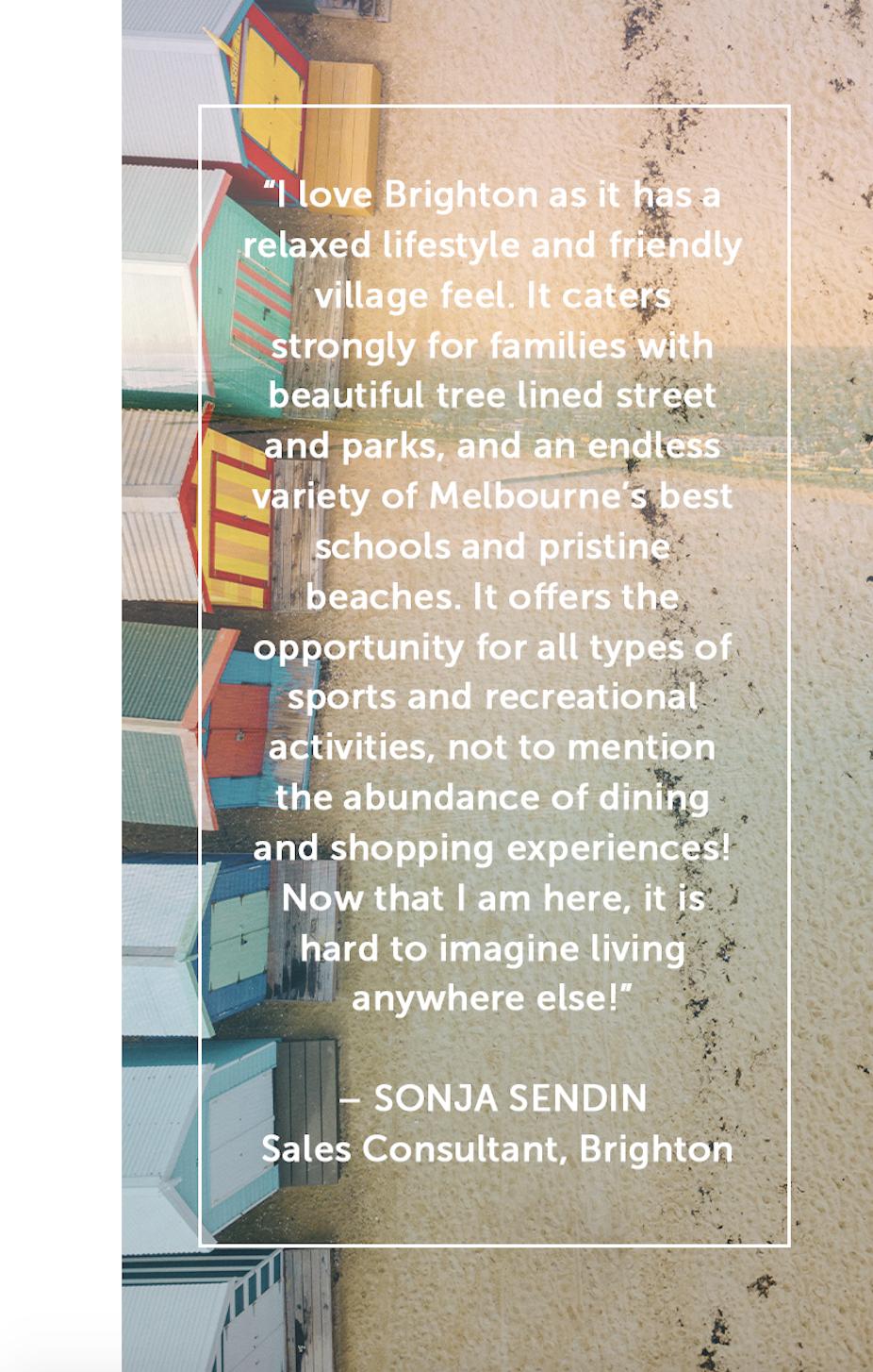 Sonja Sendin quote