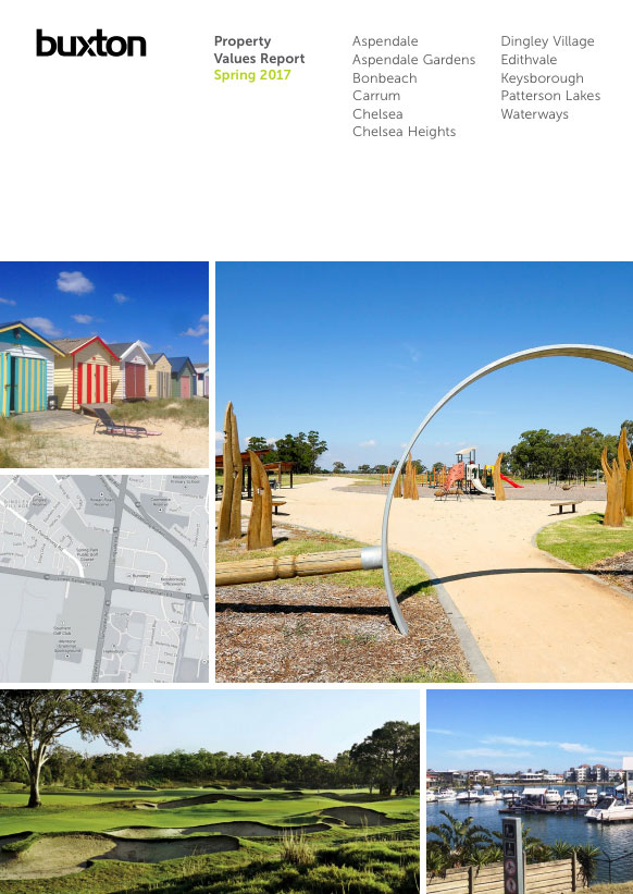 Property Values Report Cover - Dingley & Chelsea - 2017 Spring